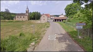 Petit village Haut-Saônois de 27 habitants, Tartécourt se situe en région ...