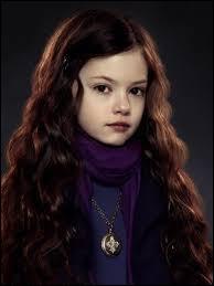 Comment s'appelle la fille de Bella Swan et Edward Cullen ?