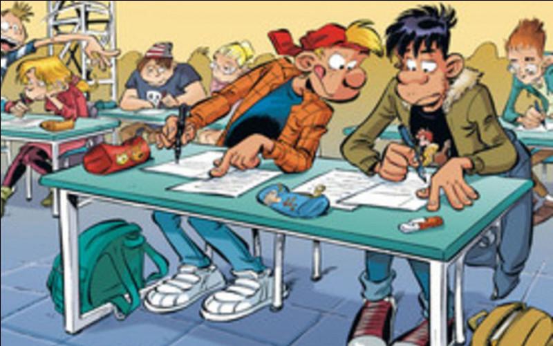 Dans la bande dessinée « Les Profs », comment se prénomme le cancre ?