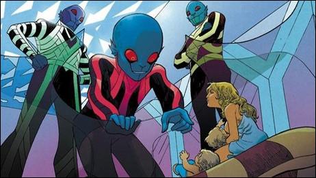 « Niourk », « Oms en série » ou encore « Terminus 1 » sont des bandes dessinées adaptées des œuvres de quel romancier ?