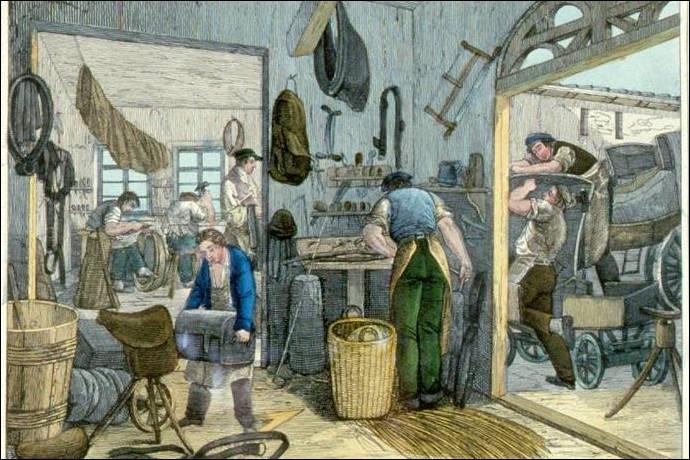"""Com, comme """"commerçant"""" : lequel de ces commerçants du Moyen Âge, fabriquait les mors des chevaux ?"""