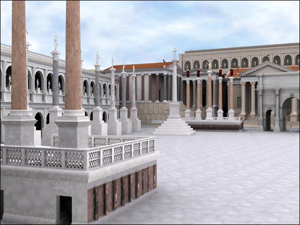 Je suis le lieu le plus important de Rome