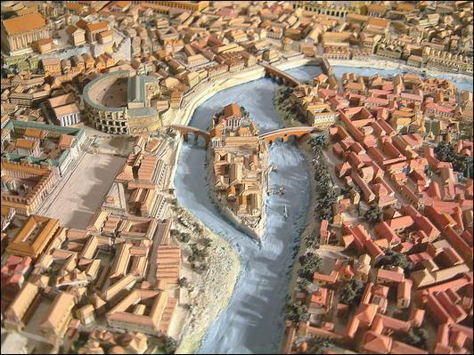 C'est le nom du fleuve qui traverse Rome