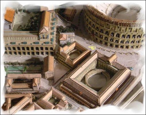 Je me trouve à coté d'un lieu ou des gladiateurs combattaient