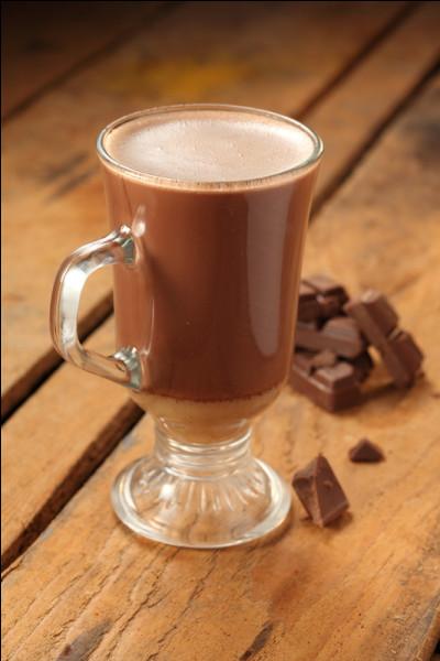 Le chocolat chaud a meilleur goût dans...