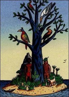 Dans «Vendredi ou la vie sauvage», quel surnom reçoit le mousse Jean Neljapaêv ?