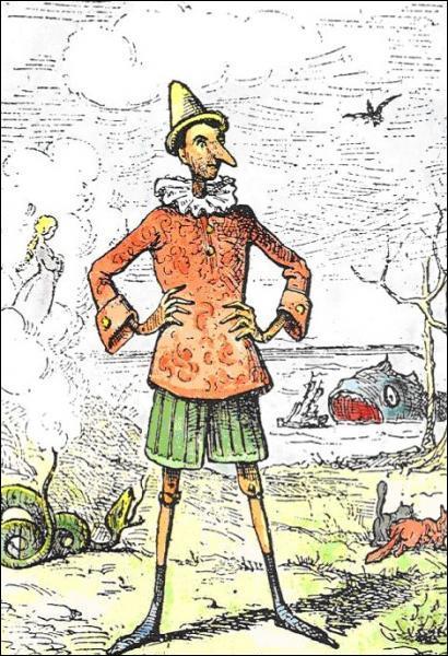 Quel personnage de marionnette se mettant à vivre Carlo Collodi a-t-il créé ?