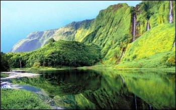 Combien y a-t-il d'habitants (environ) aux Açores ?