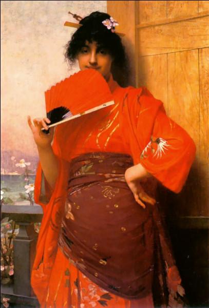 Enseignant à l'Académie Julian, il rivalise avec William Bouguereau pour les nus féminins. Il a également peint les plafonds de l'hôtel Vanderbilt à New York et ...Une Japonaise (1882).