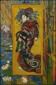 Qui a peint La Courtisane ?