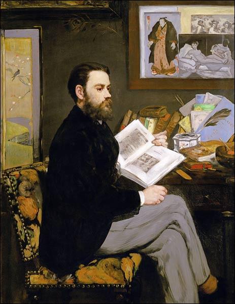"""Voici un portrait très """"japonisant"""" d'Emile Zola. Qui en est l'auteur ?"""