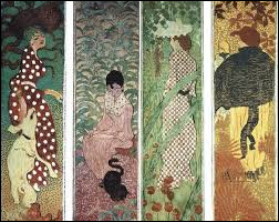 """Qui est """"le nabi très japonard"""" qui a peint ces Femmes au Jardin"""