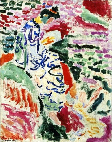 """""""La Japonaise au bord de l'eau"""" a été peinte en 1905 à Collioure par un créateur du Fauvisme."""
