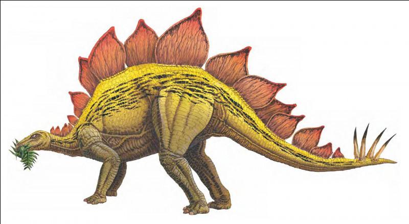 Le stégosaure a été découvert...