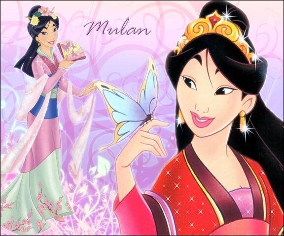 A quelle famille Mulan appartient-elle ?