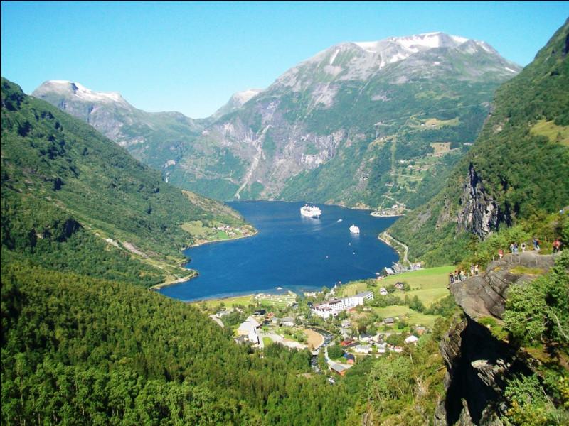 En été, le bateau pénètre ensuite dans le Geirangerfjord, l'un des fjords les plus étroits et les plus spectaculaires de Norvège. Géologiquement, qu'est-ce qu'un fjord ?