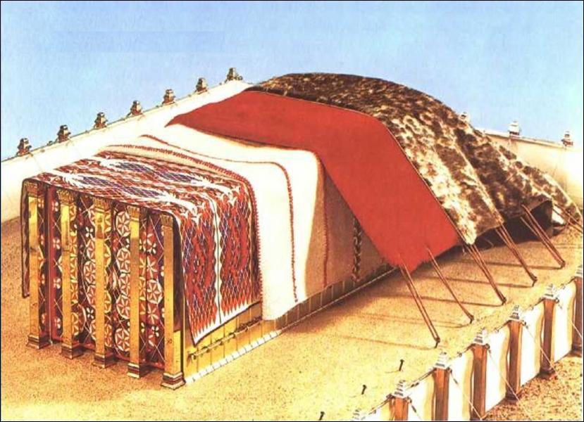 Combien de tapis ou couvertures couvraient la tente d'assignation ?