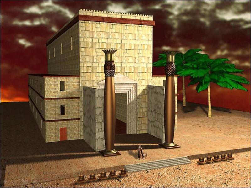 Au temps des rois d'Israël, qui voulut construire un temple pour y mettre l'arche et qui vit sa demande refusée par Dieu ?