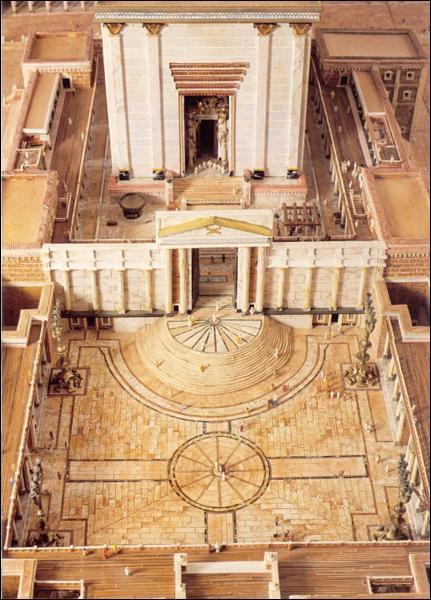 Comment Dieu signifia-t-il que le service du sanctuaire terrestre était achevé ?
