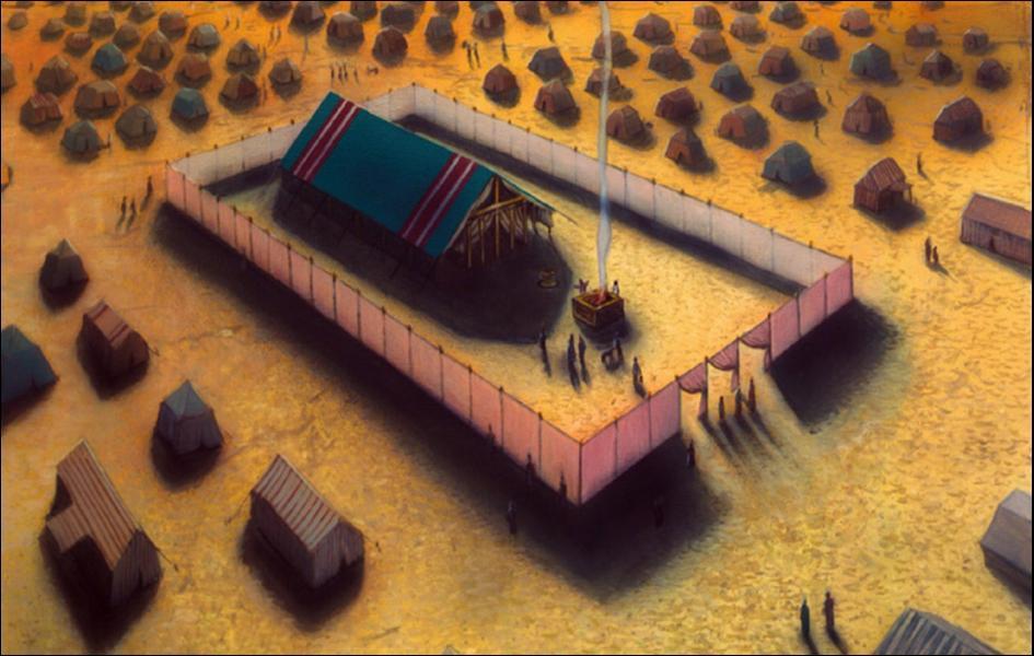 Qui reçut l'ordre de faire construire le sanctuaire ?