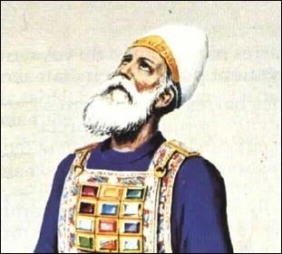 Qu'est-ce qui était écrit sur la tiare que portait le souverain sacrificateur ?