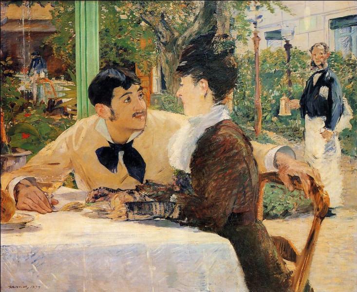 Édouard Manet a immortalisé sur sa toile un célèbre restaurant/cabaret des Batignolles : quel était son nom ?
