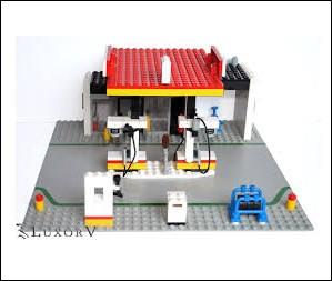 Que représente cette construction en Lego ?