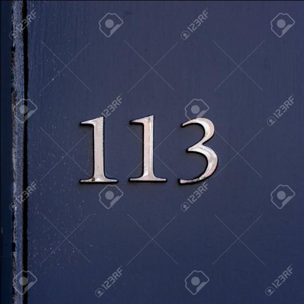 Combien font 13 × 13 ?