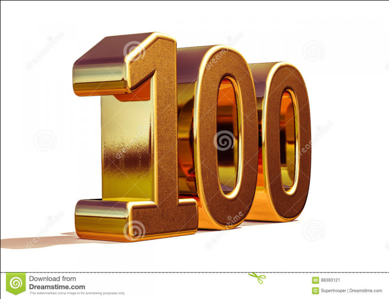 Combien de fois peut-on retrancher 10 de 100 ?