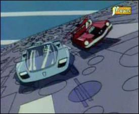 Dans quel dessin animé peut-on voir ces voitures ?