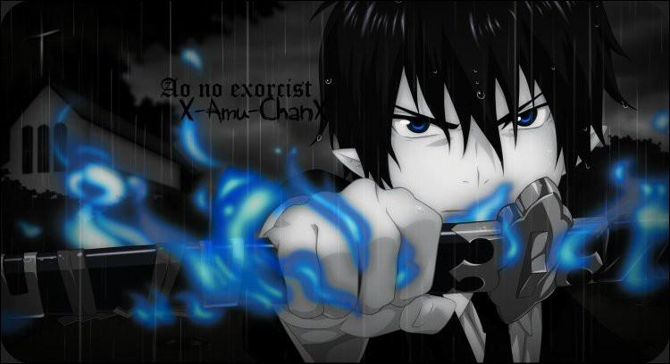 """Dans """"Ao no Exorcist"""", quels sont les deux noms du katana de Rin Okumura ?"""