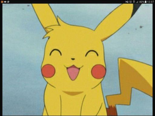 """Dans """"Pokémon"""", comment s'appelle le Pikachu de Richie qui a d'ailleurs franchement la classe avec sa petite mèche rebelle ?"""