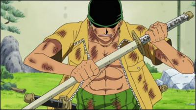 """Dans """"One Piece"""", comment s'appelle le tout premier sabre de Zoro ?"""