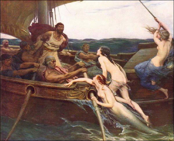 Qui s'accroche au mât de son navire pour résister au chant des sirènes ?