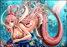 Dans quel manga croise-t-on Shirahoshi, la princesse sirène, fille de Neptune et Otohime ?