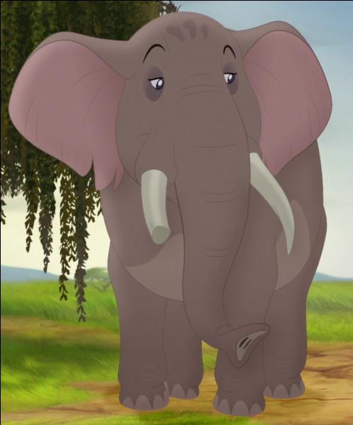 Comment s'appelle celle qui dirige les éléphants ?