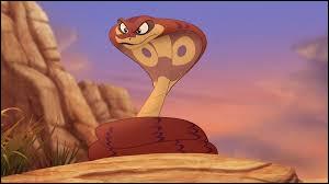 Comment s'appelle le serpent avec Scar ?