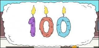 Comment appelle-t-on une personne qui a 100 ans ?