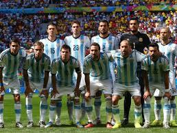 L'Argentine durant la Coupe du monde 2014