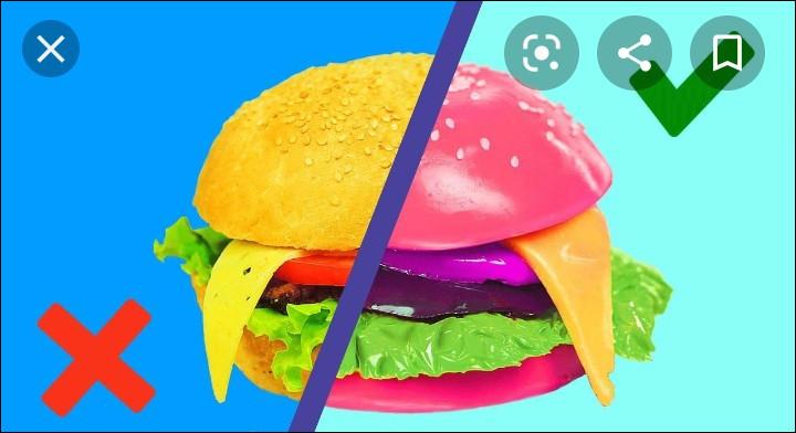 Tu préfères les vrais aliments ou les aliments en bonbon ?