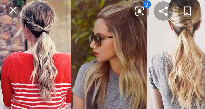 Comme coiffure, tu te fais :