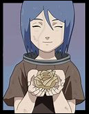 """Konan est la seule femme de l'Akatsuki. Elle a été une élèves de Jiraya. Elle se bat avec du papier.Que veut dire """"Konan"""" ?"""