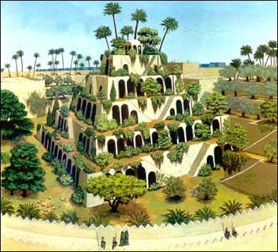 Quel monument de Babylone faisait partie des sept merveilles du monde ?