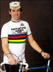 Quel cycliste natif de Lessines a notamment été champion du monde sur route en 1984 ?