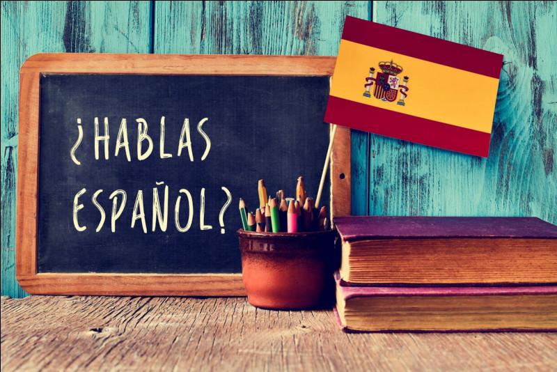 Et comment le dit-on en espagnol ?