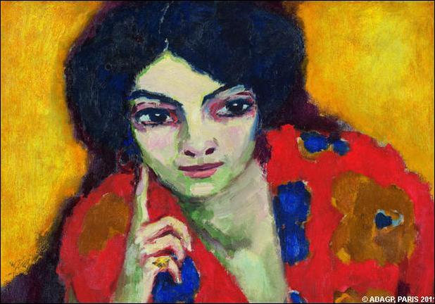 """Le peintre néerlandais, artiste d'avant-garde puis peintre mondain, auteur en 1910 de ce tableau """"le doigt sur la joue"""", c'est ... Van Dongen."""