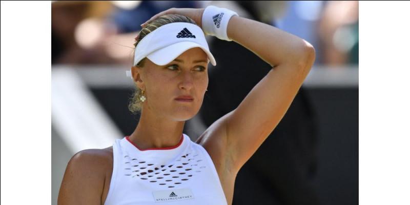 Cette joueuse de tennis française, qui particulièrement brillé dans les doubles, a remporté la Fed Cup avec l'équipe de France en 2019 : c'est ... Mladenovic.
