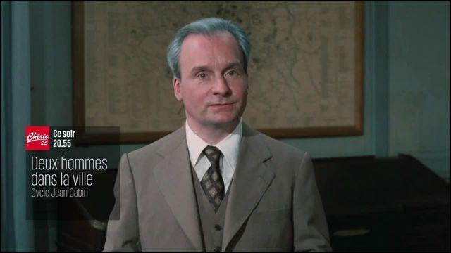 """Mi comme Michel : Dans le film """"Deux-hommes dans la ville"""", Michel Bouquet incarnant un inspecteur sans pitié, harcèle Gino Strabliggi, en réinsertion. Quel acteur joue le rôle de Gino ?"""
