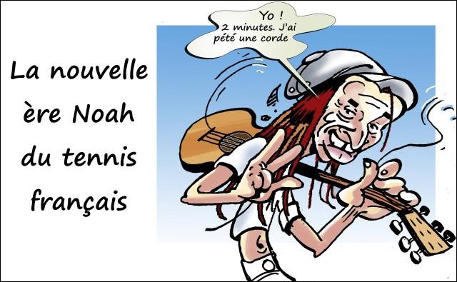Yannick Noah est le dernier Français vainqueur de Roland Garros, en 1994 il perd un ami, Marcel Bernard, vainqueur de Roland Garros en 1946, il va donc assister à son enterrement ...
