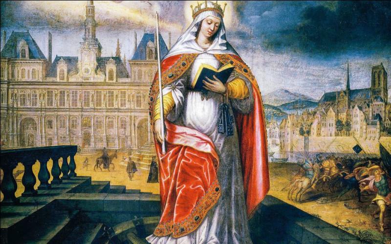 ''Femmes de légende'' : Quelle femme porte le prénom d'une femme de légende qui encouragea les Parisiens à ne pas fuir devant les Huns en 451 ?